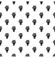 wedding flower bucket pattern seamless vector image
