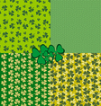 St Patricks Day holiday background vector image