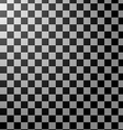 Black and white checkered abstract background vector image vector image