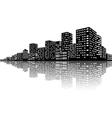 City Skyline Night scenes vector image vector image