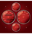 Speedometers vector image vector image