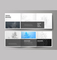 the minimal layout modern covers design vector image vector image