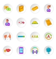 Translator icons set vector image vector image