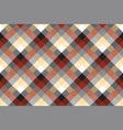 beige color check plaid seamless pattern vector image vector image