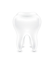 Clean healthy tooth vector image vector image