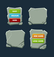 collection interface elements text boxes and vector image vector image