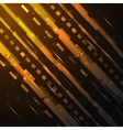 Futuristic digital background Road concept vector image vector image