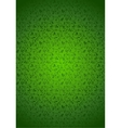 Green seamless background vector image