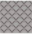 Seamless Black And White Retro Geometric vector image
