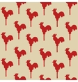 Seamless pattern cock lollipop vector image vector image
