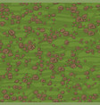 seamless texture green ground with small stones vector image vector image