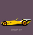 wasp sport car vector image vector image