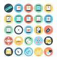 Data Science Icons 5 vector image vector image