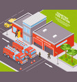 fire department vector image