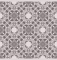 floor tiles ornament gray pattern print vector image
