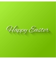 happy easter typographical vector image vector image