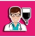 nurse service search healthy vector image vector image