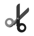 open scissors icon image vector image vector image
