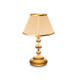 table lamp isolated vector image