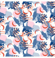 Abstract collage pattern seamless texture