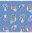 Decorative Hand dravn Cute Owl Sketch Doodle on vector image vector image
