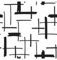 felt pen strokes seamless pattern vector image vector image