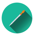 Icon of chemistry dropper vector image vector image