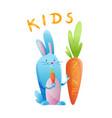 kids zone toys fun playing zone playroom banner vector image vector image