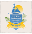Logo for the marine theme vector | Price: 1 Credit (USD $1)