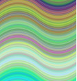 Multicolored abstract wave background design vector image vector image