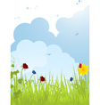 spring background 01112 vector image vector image