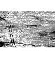 black grunge striped background vector image vector image