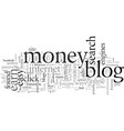 earn passive income with blogs vector image vector image