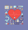 Health and Medical Care vector image vector image