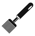 honey steel tool icon simple style vector image vector image