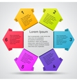 Modern template for your business project vector image vector image