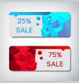 sale banners set vector image