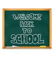 School Chalkboard vector image
