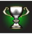 silver award vector image vector image
