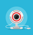 web camera icon vector image vector image