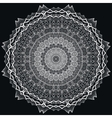 Detailed lace Mandala vector image vector image