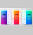e commerce brochure design vector image