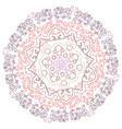 mandala vintage oriental pattern vector image vector image