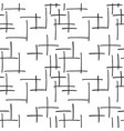marker strokes seamless pattern vector image vector image