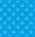 phone diagnosis pattern seamless blue vector image vector image