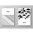 Set of abstract design templates vector image vector image