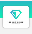 simple diamond logo design inspiration vector image vector image