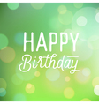 slogan for birthday greetings vector image