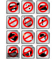 stopsign vector image