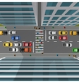 City Traffic Top View vector image
